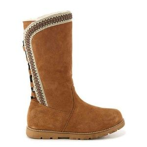 LAMO MADELYN SUEDE BOOTS CHESTNUT